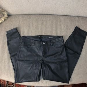 Guess Faux Leather Kate Skinny Pants
